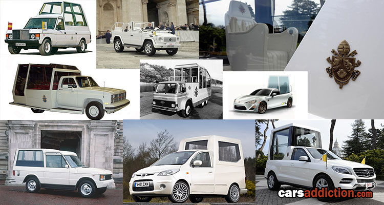 Popemobiles at a Glance