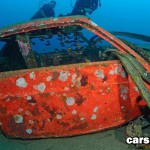 Car Wrecks Under Water