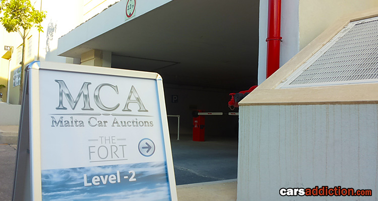 First Private Malta Car Auction
