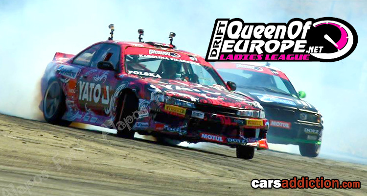 Queen of Europe Drift Ladies League