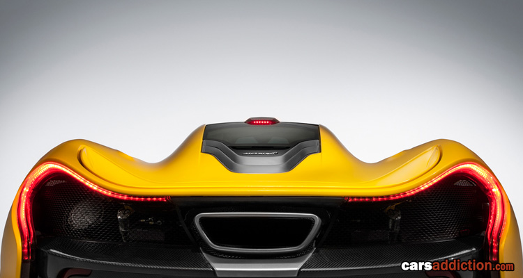 McLaren P1 Official Specifications