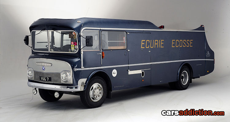 Rare Commer TS3 Three-Car Transporter on Auction