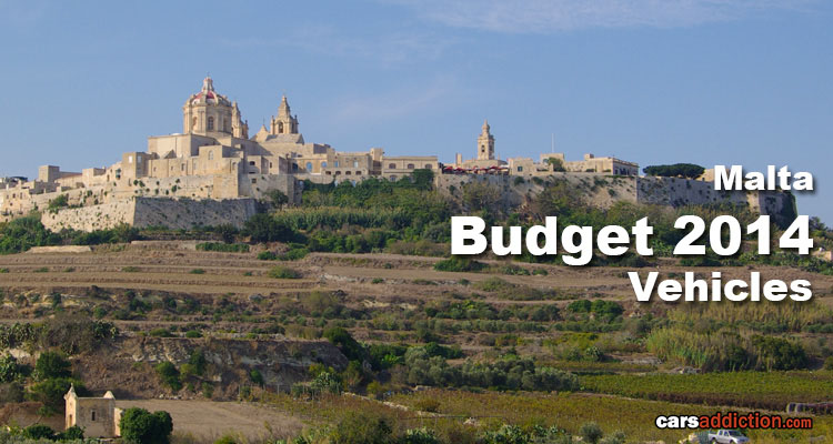 Malta 2014 Budget for Vehicles