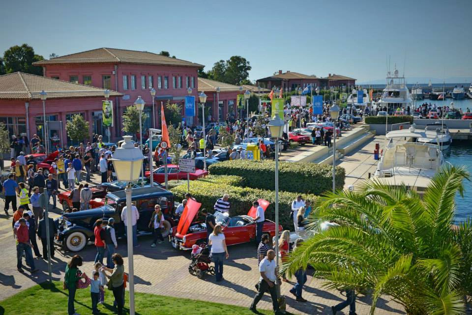 Concours d'Elegance in Flisvos marina in Athens, Greece