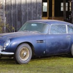 Barn find Aston Martin DB5
