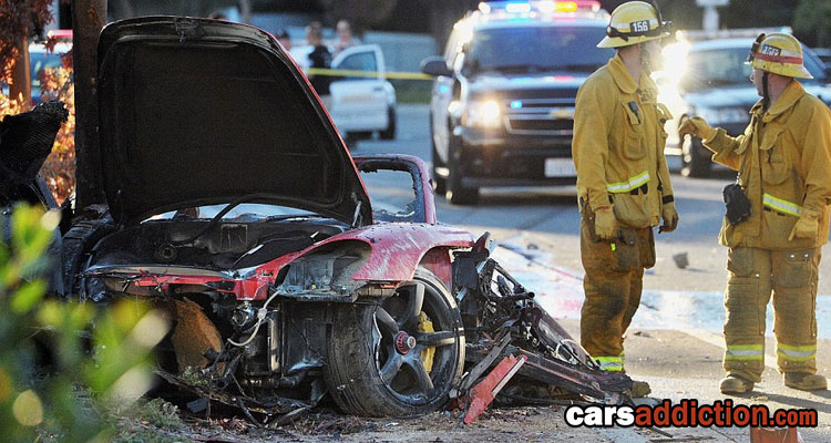 Fast & Furious star Paul Walker dead after Porsche GT driven by his friend crashed into pole