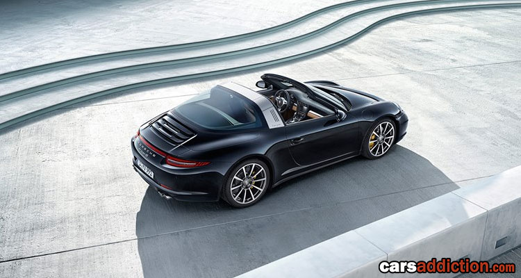 The Modern Porsche 911 Targa