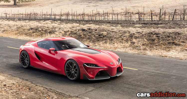 2014 Toyota FT 1 Concept, The New Supra?