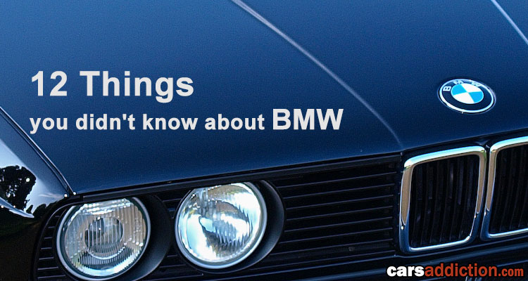 12 Things you didn't know about BMW