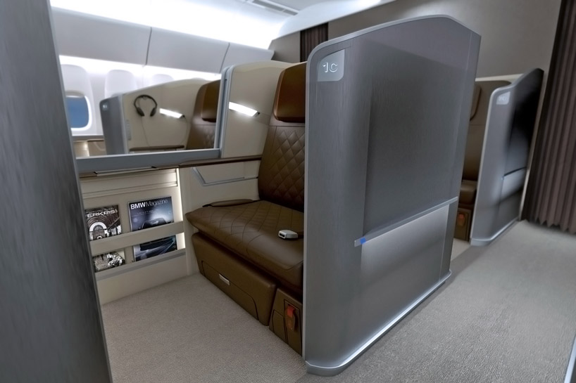 Bmw Train Airplane Interior Design
