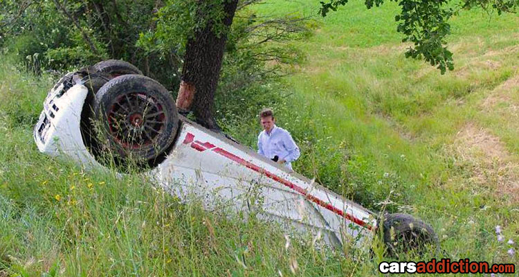Another McLaren F1 Crash