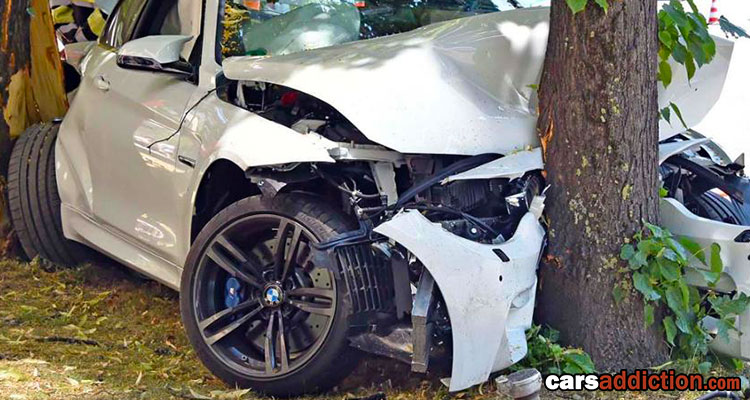 Totalled BMW M4