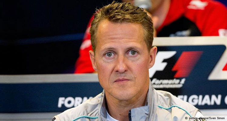 Michael Schumacher on the road to recovery