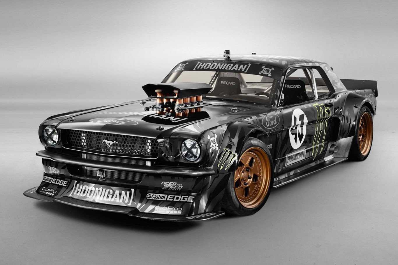 Gymkhana and Ken Block CarsAddiction