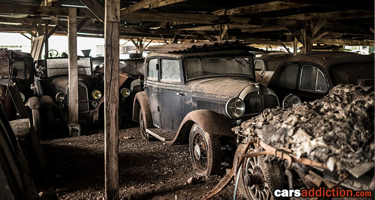 12 Million Worth of Old Classic Cars For Sale
