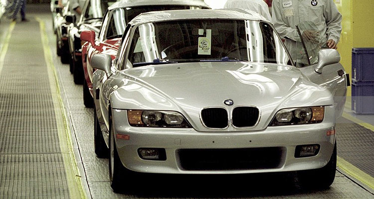 Bmw Z3 Press Photos From Inside The Spartanburg Factory