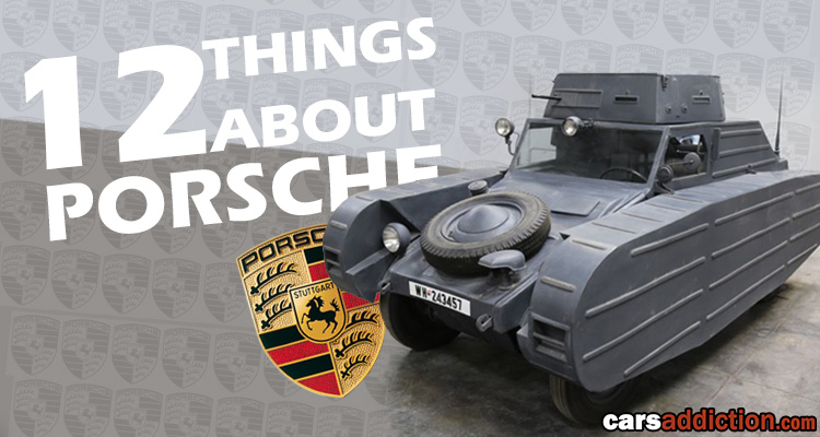 12 Things you didn't know about Porsche