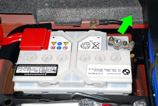 BMW Z3 Battery Location