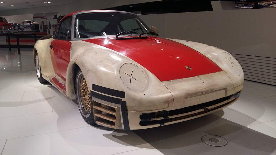 The Story Porsche 959 Chassis Based On The 911