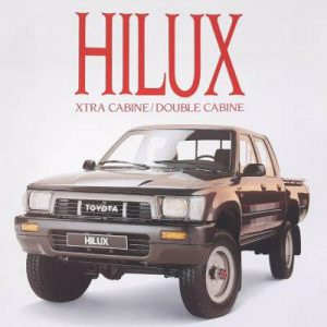 1989 Toyota Hilux French Brochure