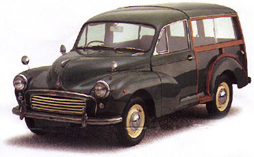 1953 Morris Minor Series II Traveller