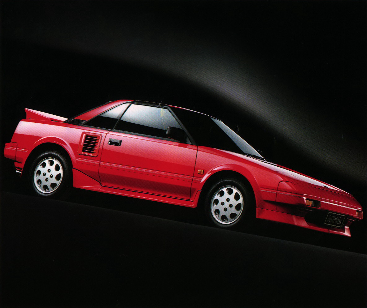 1986 Toyota MR2 Supercharger