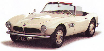 1956 BMW 507 Roadster