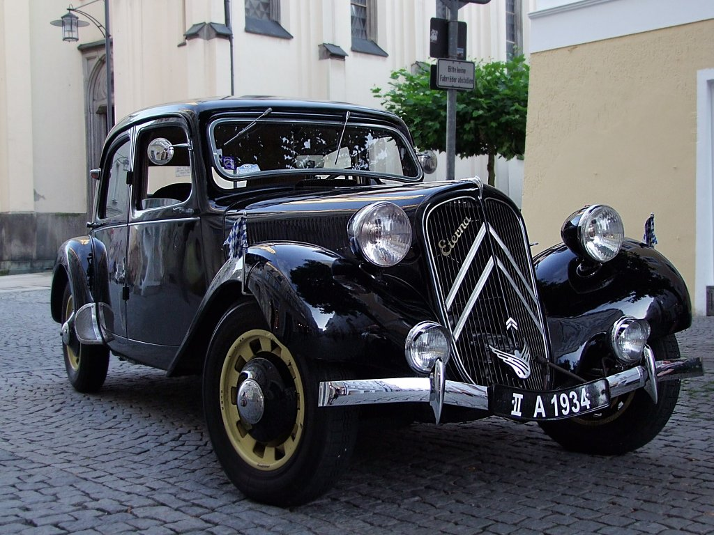1934 Citroen Traction Avant 7 Berline