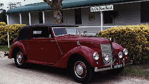 1946 Armstrong-Siddeley Hurricane DHC