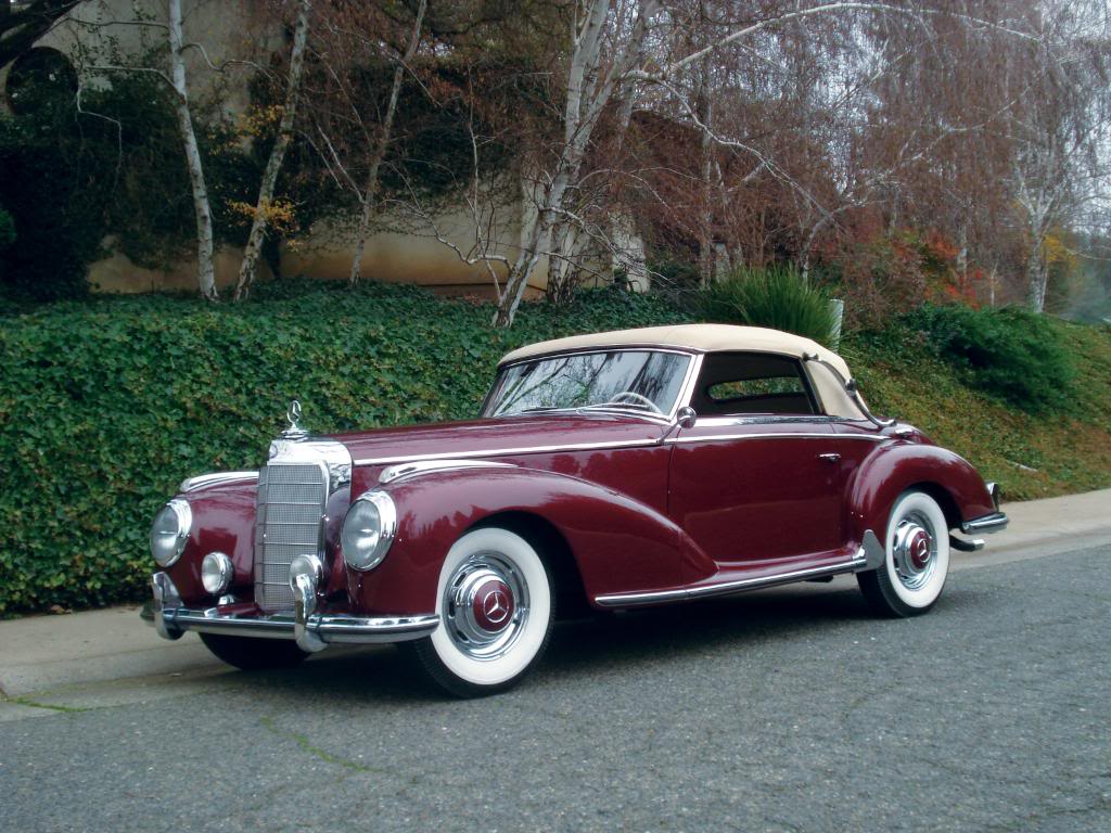 1952 Mercedes-Benz 300 S Roadster