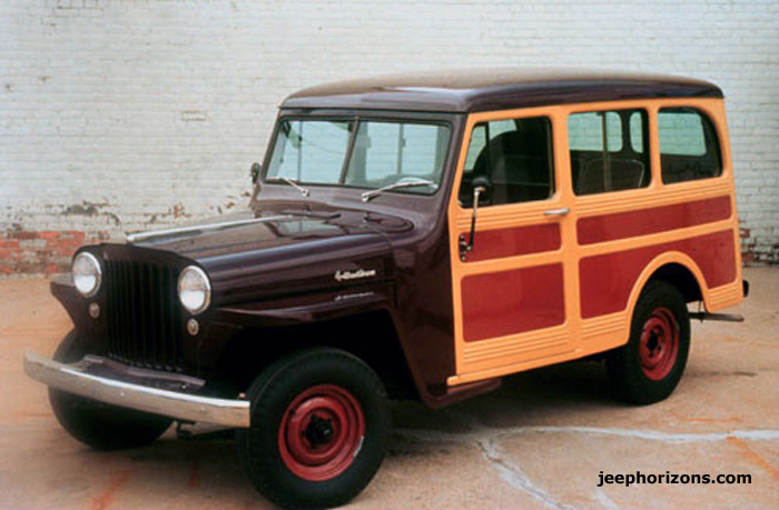 1952 Willys Jeep Station Wagon