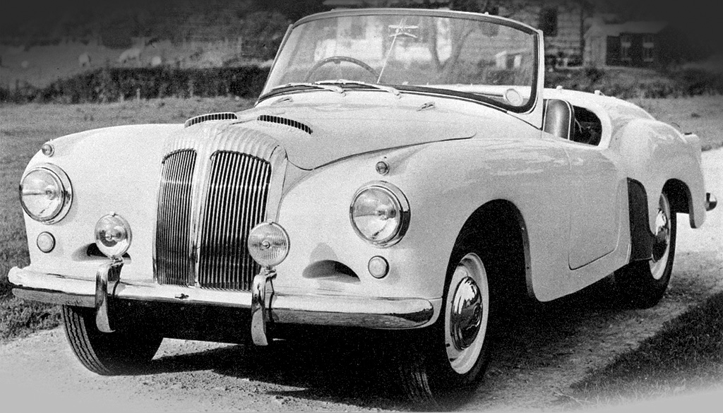 1953 Daimler Conquest Roadster