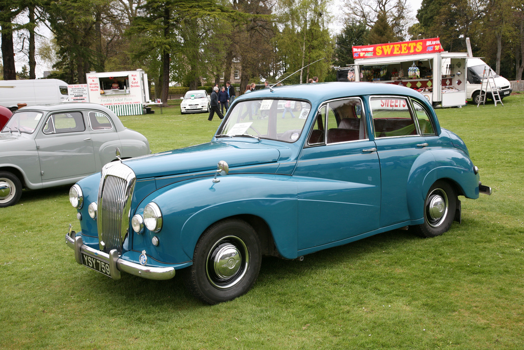 1953 Daimler Conquest Saloon