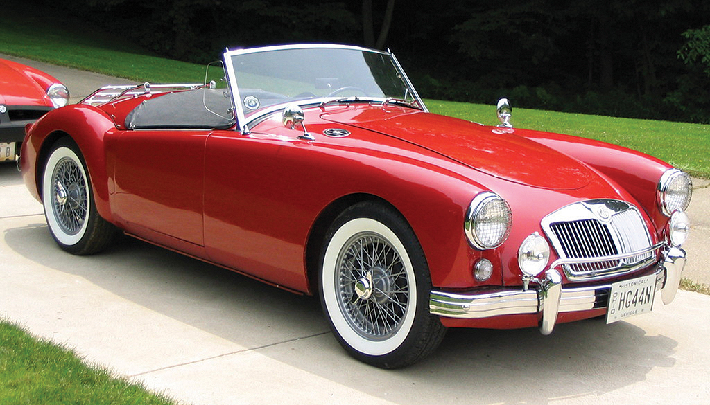 1955 MG A Roadster