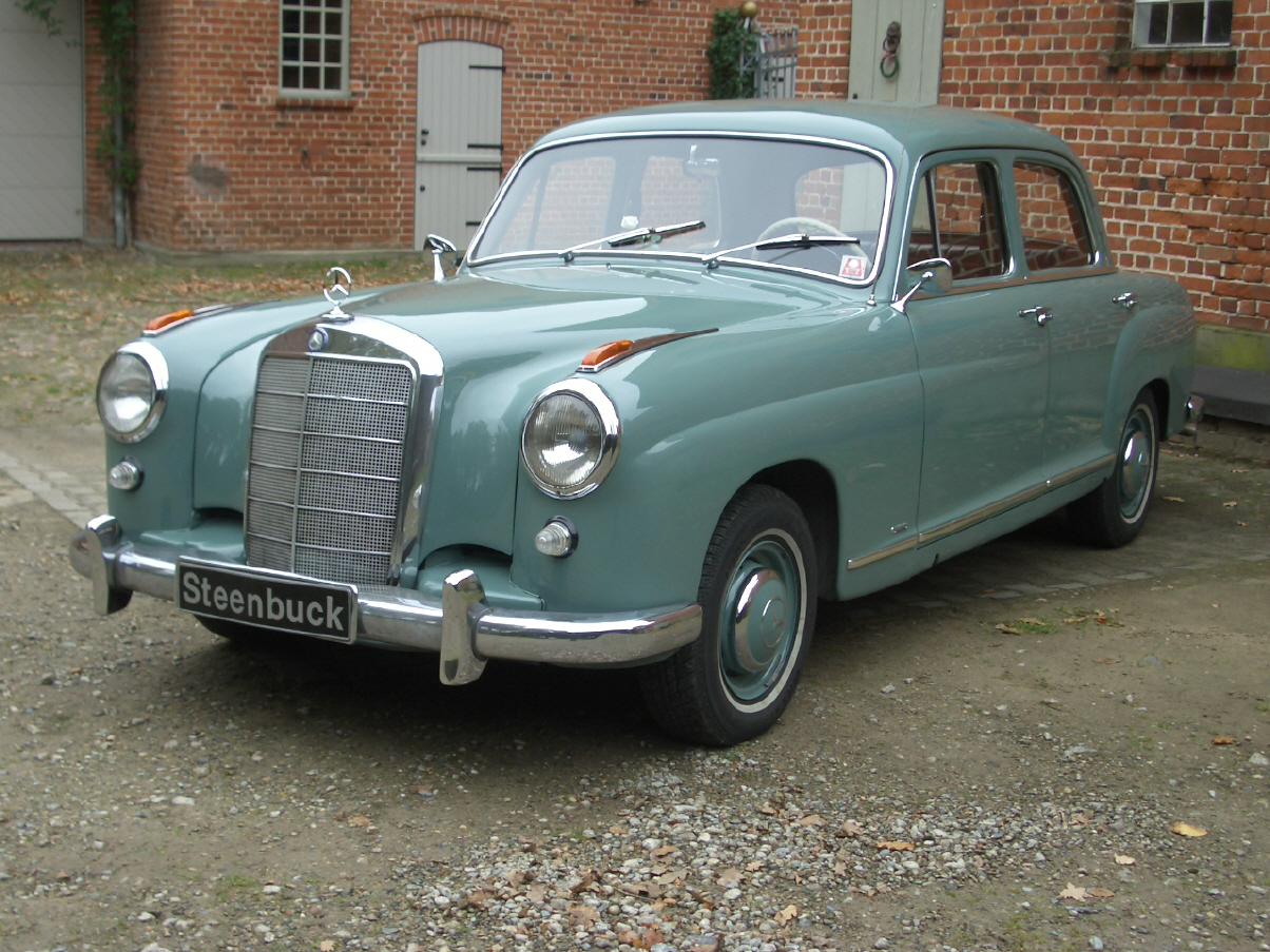1956 Mercedes Benz 219 Carsaddiction Com