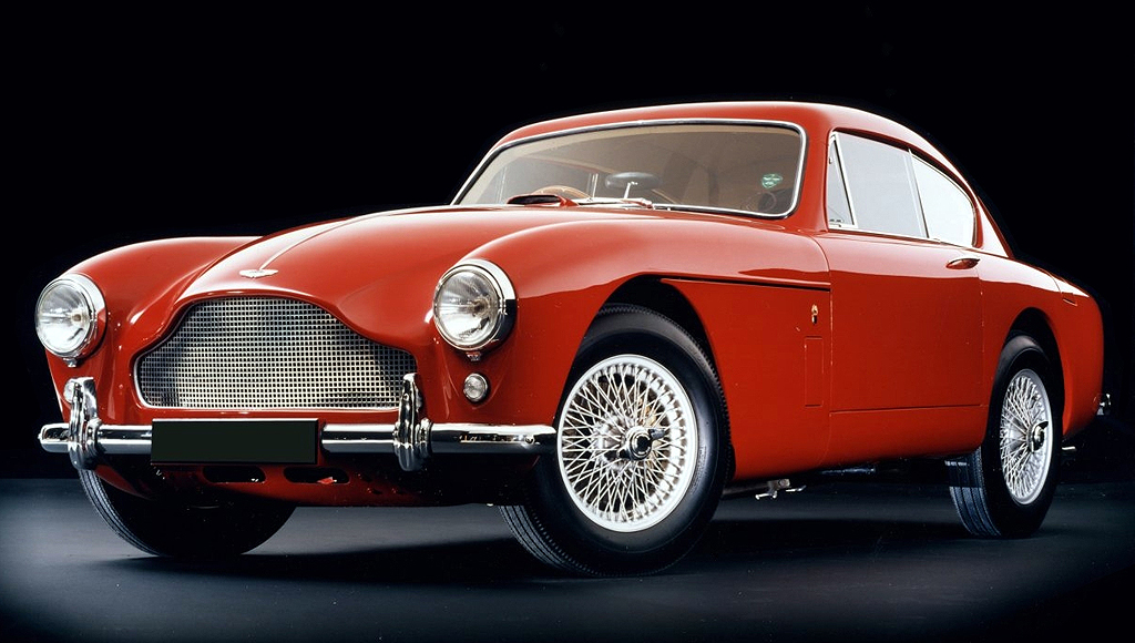 1957 Aston Martin DB 2/4 MkIII Coupe