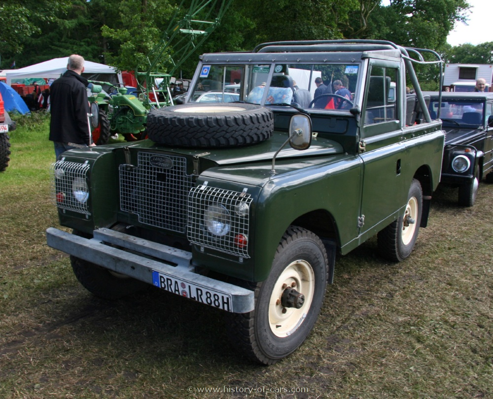 1958 Land Rover 88 Soft-top
