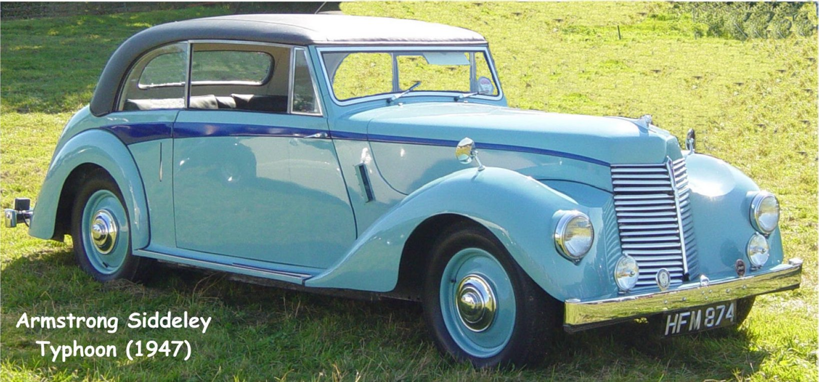1958 Armstrong Siddeley Typhoon