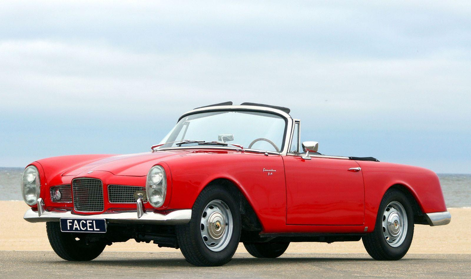 1959 Facel Vega Facellia Convertible Carsaddiction Com