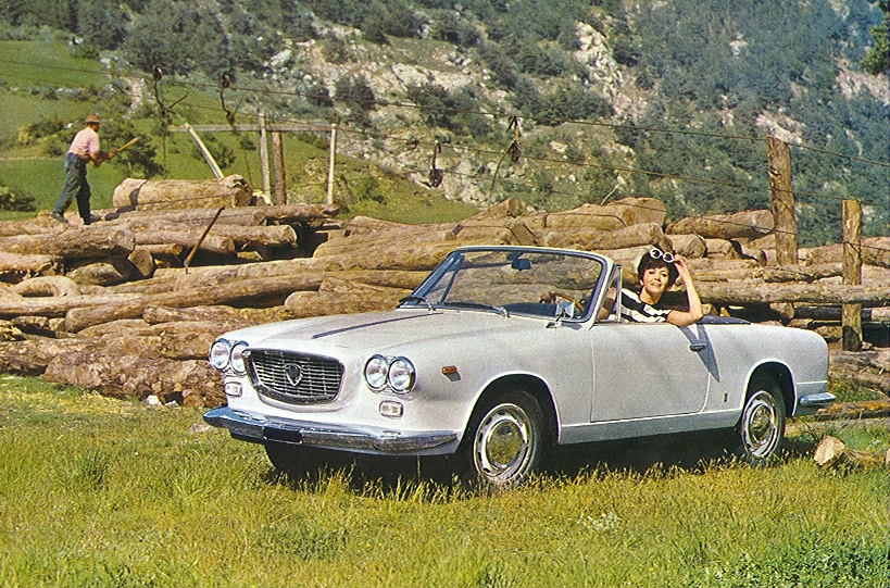 1961 lancia flavia cabriolet. Black Bedroom Furniture Sets. Home Design Ideas