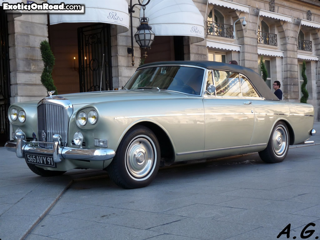 1962 Bentley S3 Continental Drophead Coupe