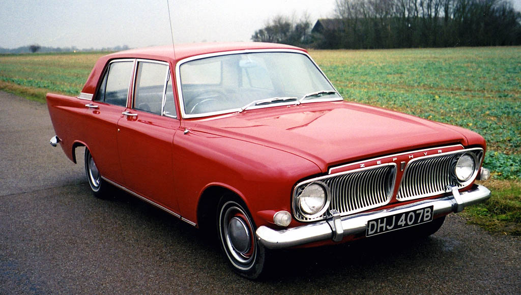 1962 Ford Zephyr 4 MkIII