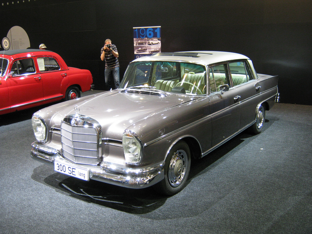 1963 Mercedes Benz 300 Se Lang Carsaddiction Com