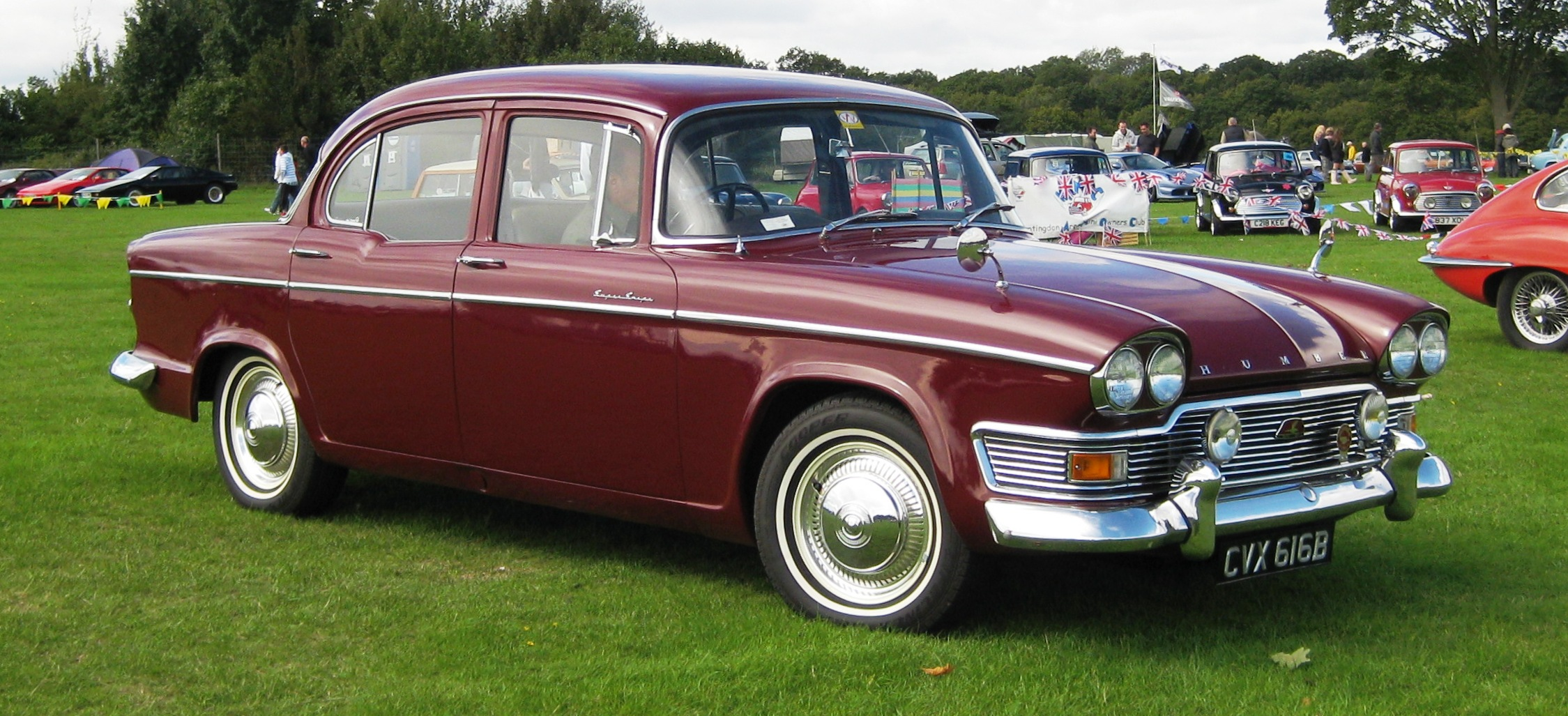 1964 Humber Super Snipe Series 4 Carsaddiction Com