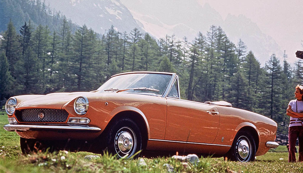 1966 Fiat 124 1600 Spider Carsaddiction Com