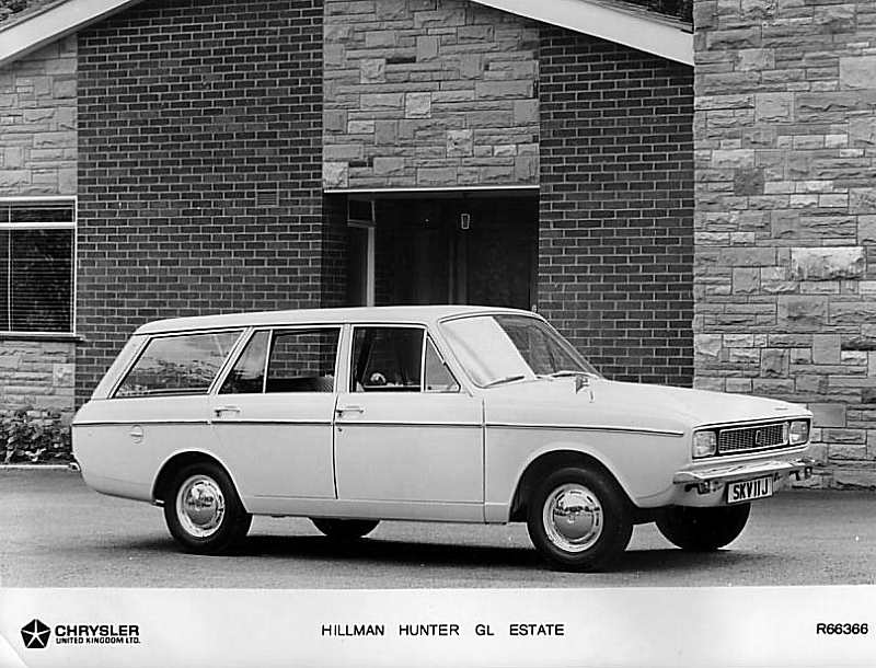 1966 Hillman Hunter Estate