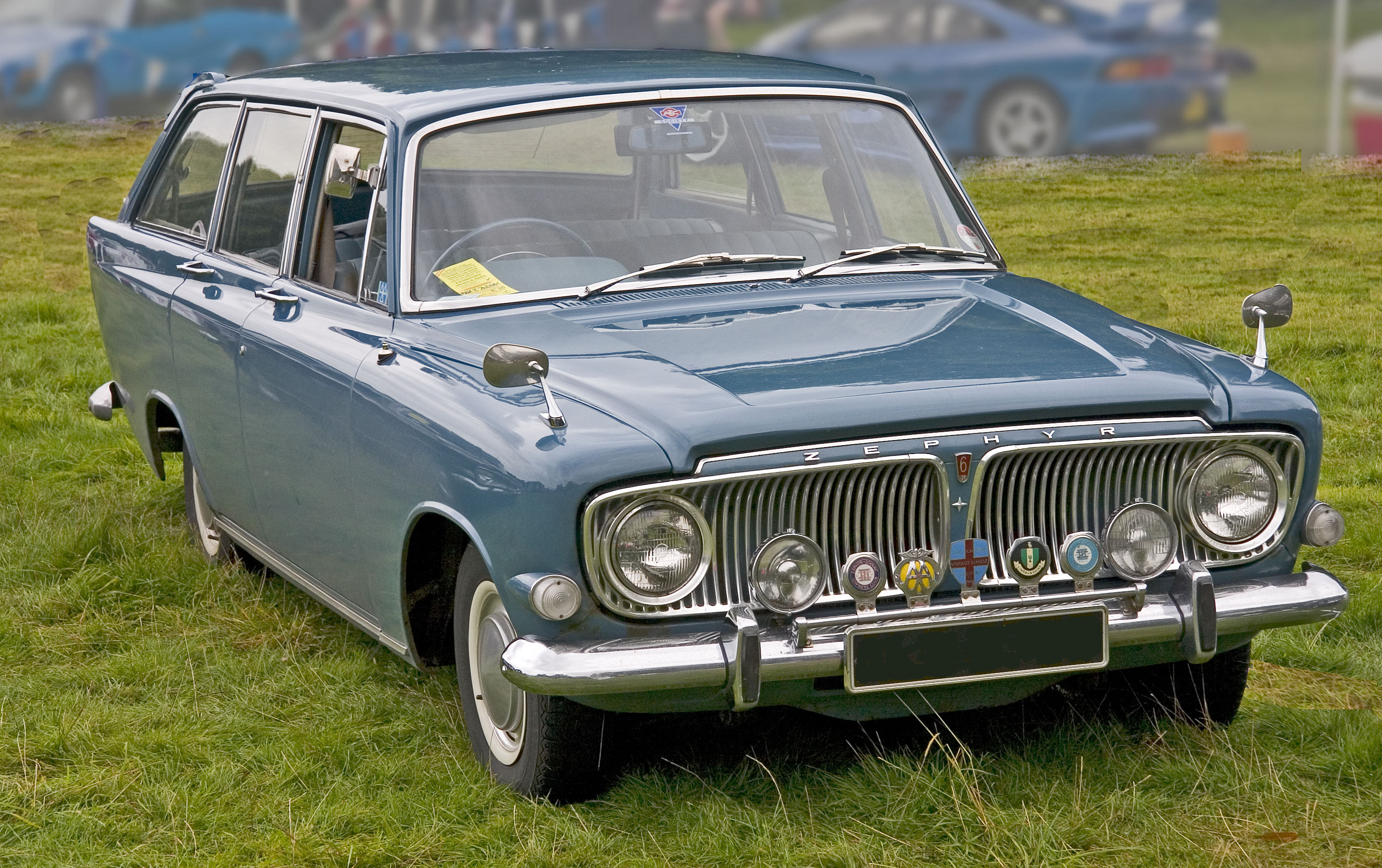 1966 Ford Zephyr Estate - CarsAddiction.com
