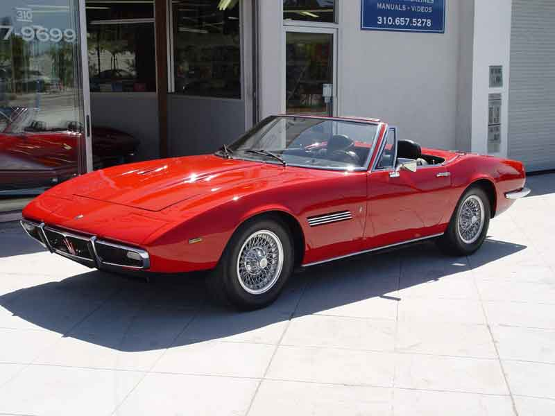 1967 Maserati Ghibli Convertible - CarsAddiction.com