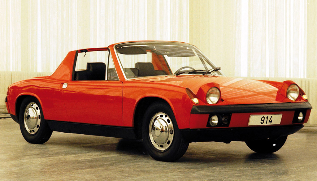 1969 Porsche 914 4 Carsaddiction Com
