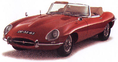 1961 Jaguar E-Type Series 1 Roadster 3.8
